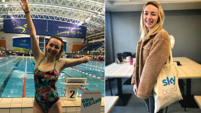 Ellen Keane is proud of her body having spent her childhood hiding her left arm