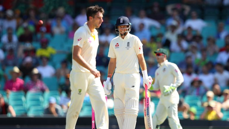 Joe Root is 42no heading into the final day of the Ashes series
