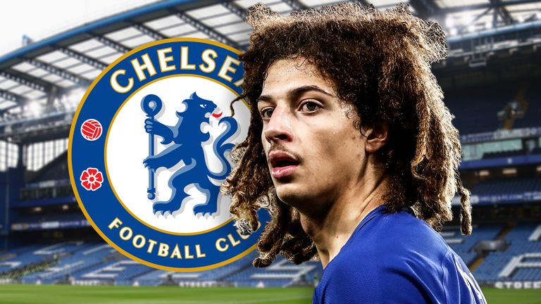 Ethan Ampadu joined Chelsea from Exeter in the summer