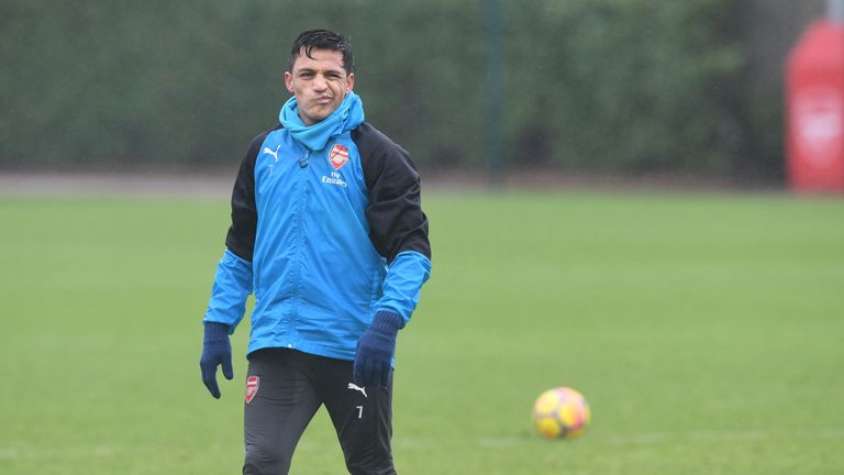 Arsenal forward Sanchez's future is still up in the air