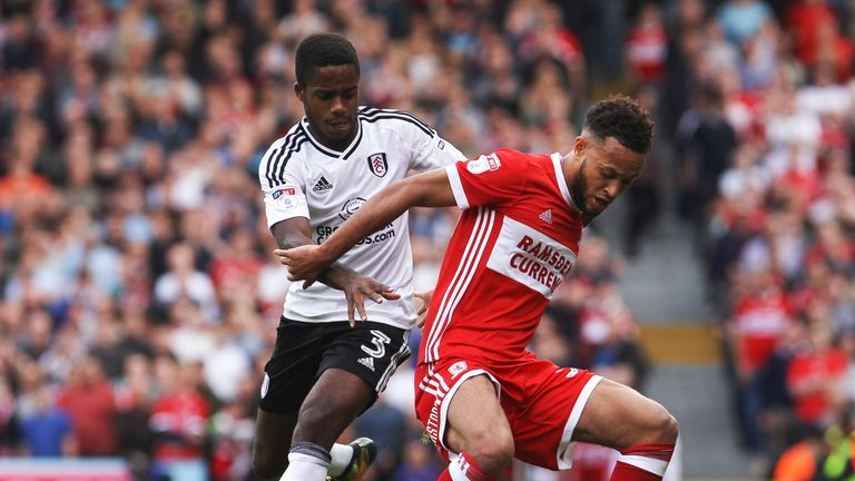 Middlesbrough and Fulham meet in the Sky Bet Championship on Saturday