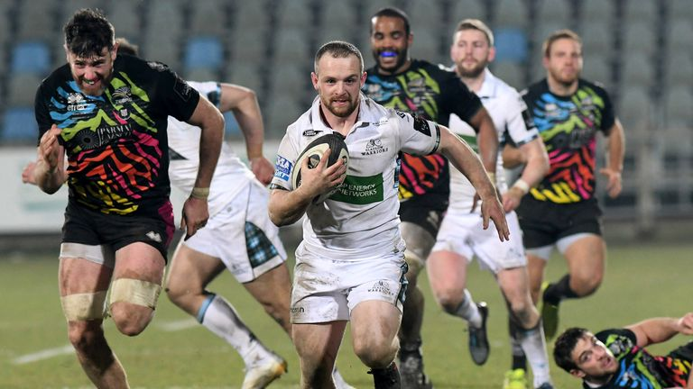 Glasgow have now won all 11 meetings with Zebre Rugby