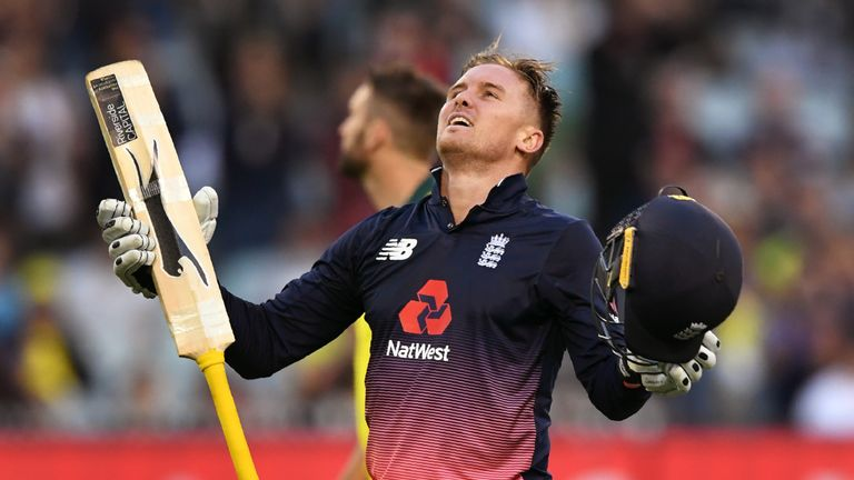 Jason Roy showed great maturity in his record-breaking innings of 180