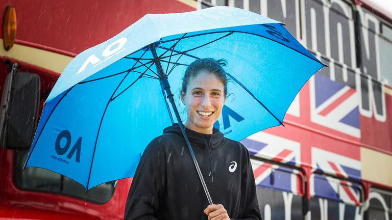 Johanna Konta is feeling positive ahead of the Australian Open