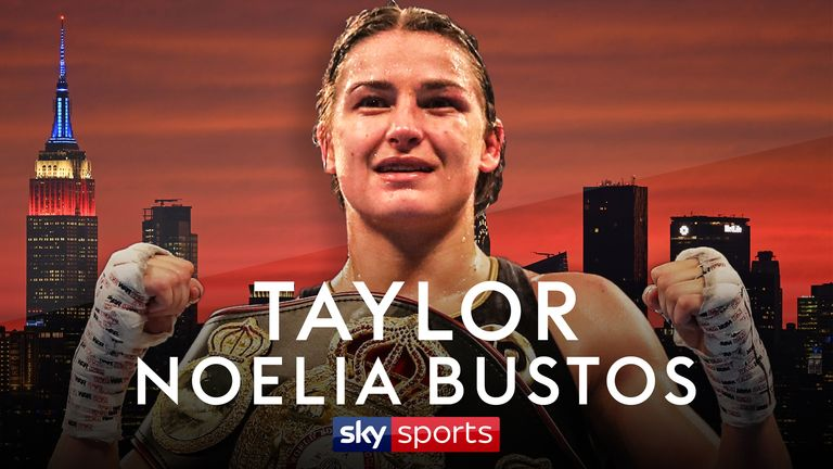 Katie Taylor will be back in New York on April 28