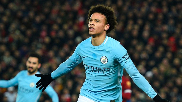 Leroy Sane has been out injured since the end of last month