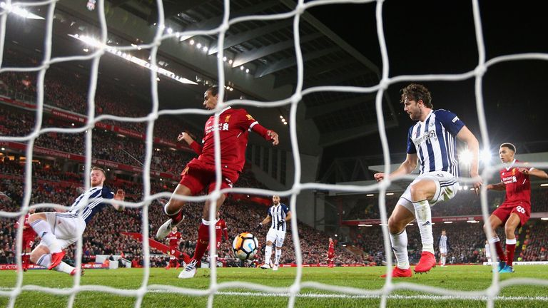 Matip flicked the ball into his own net for what turned out to be the match winning goal