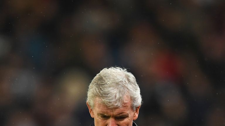 Mark Hughes was sacked by Stoke earlier this season