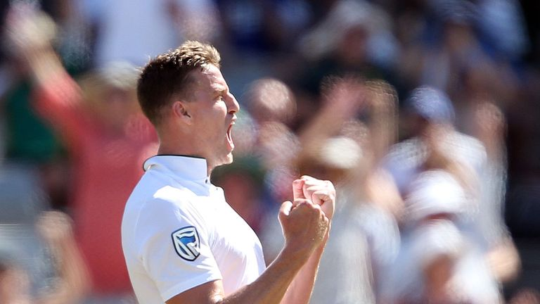 Morne Morkel in action against India