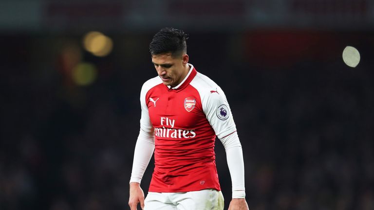 Alexis Sanchez is wanted by Manchester City and Manchester United