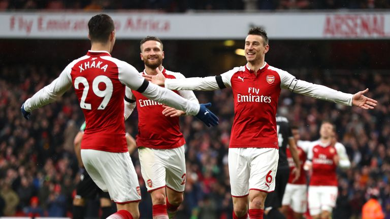 Arsenal saw off Crystal Palace 4-1 on Saturday