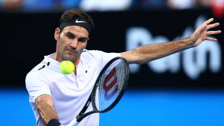 Roger federer continues impressive start to new season with another roger federer defeated karen khachanov at the hopman cup voltagebd Image collections
