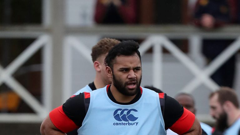 Billy Vunipola could return to action for Saracens at Wasps on Sunday