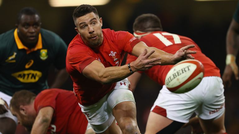 Injured Rhys Webb released from Wales squad