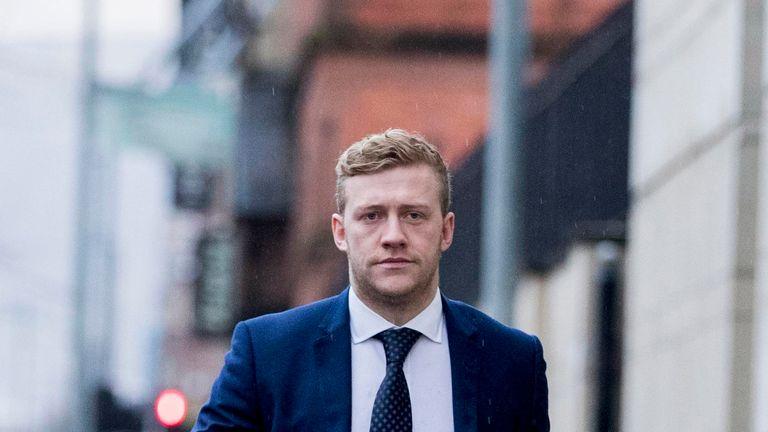 Exeter have denied interest in Stuart Olding