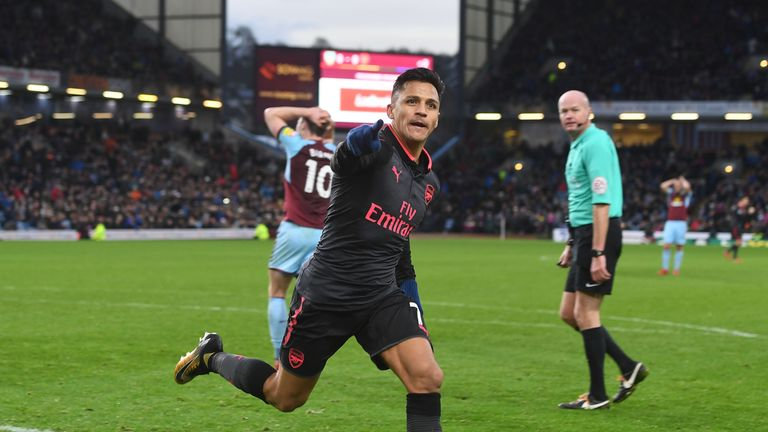 Alexis Sanchez looks to be on his way to Old Trafford
