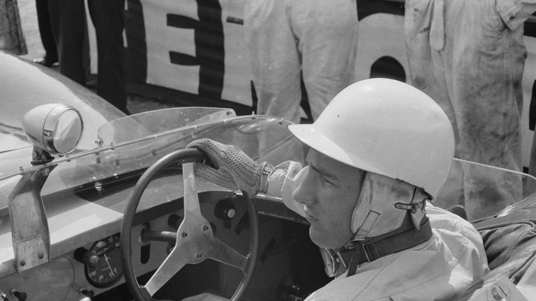 Sir Stirling Moss won 16 of the 66 Grands Prix in which he competed from 1951-66