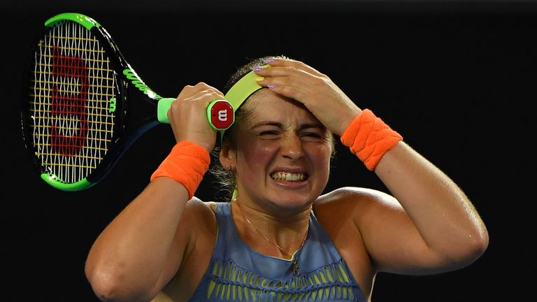 Ostapenko falls in Miami Premier final