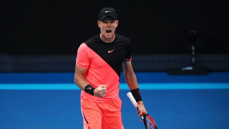 Kyle Edmund will face Mario Andujar in the final of the Grand Prix Hassan II after winning twice on Saturday