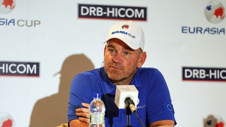 Captain Thomas Bjorn has every confidence in his 12 players