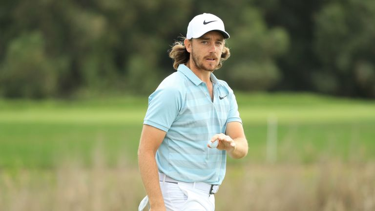 Tommy Fleetwood opened the defence of his title with a six-birdie 66