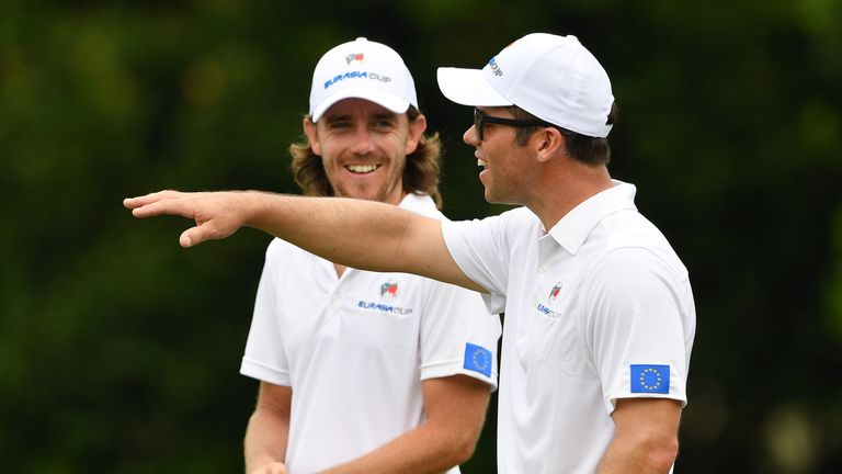 Casey and EurAsia Cup partner Tommy Fleetwood will both be at Wentworth
