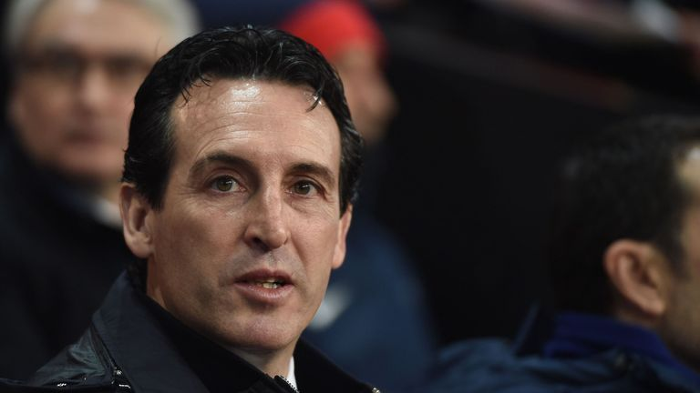 Unai Emery's position has come under question in recent months