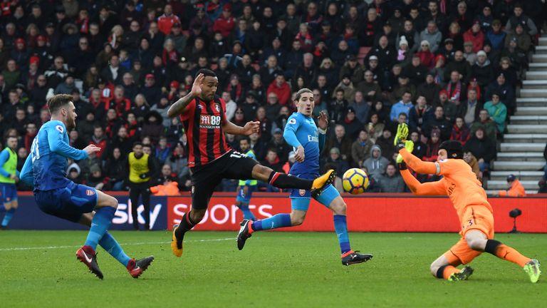 Callum Wilson scores Bournemouth's first goal