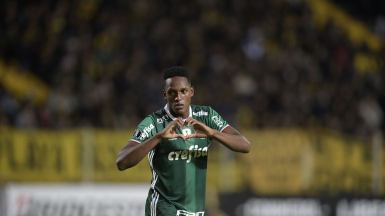 Barcelona Sign Defender Yerry Mina From Palmeiras