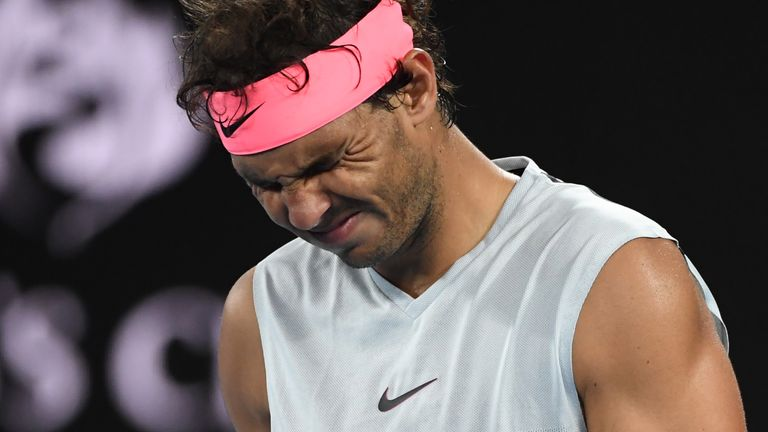 Rafael Nadal has withdrawn from events in Miami and Indian Wells