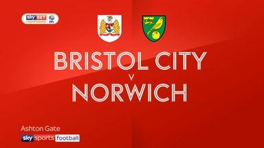 Bristol City 0-1 Norwich