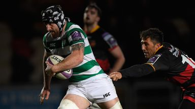 Gary Graham, the Scottish-born flanker, was named in an England training squad for the first time late last year