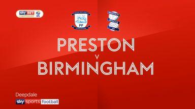 Preston 1-1 Birmingham