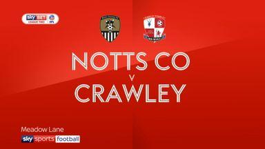 Notts County 1-2 Crawley