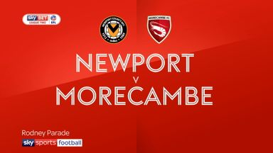 Newport 1-1 Morecambe
