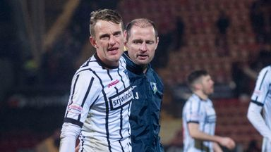 Falkirk issued an apology to Dunfermline's Dean Shiels