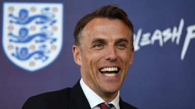 England Women head coach Phil Neville has named his first international squad