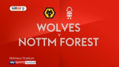 Wolves 0-2 Nott'm Forest