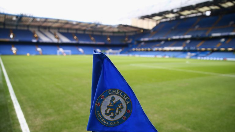 LONDON, ENGLAND - FEBRUARY 13:  A general view of the stadium prior to the Barclays Premier League match between Chelsea and Newcastle United at Stamford B