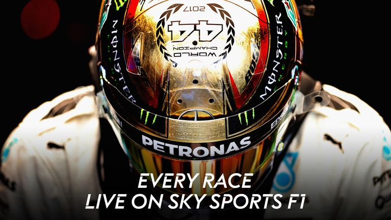 Every race live on Sky Sports F1
