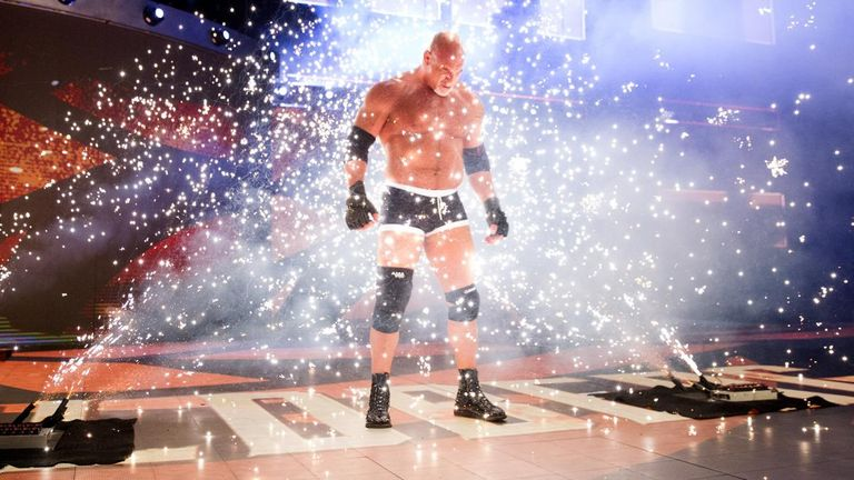 Goldberg was this week confirmed as the first inductee in WWE's 2018 Hall of Fame class