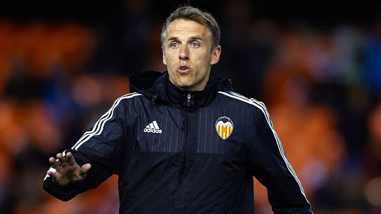 Ex Valencia CF assistant coach Phil Neville