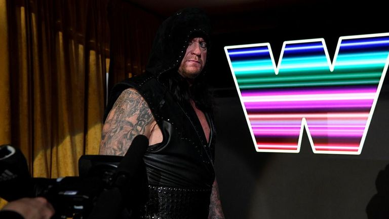 The Undertaker delivered an ambiguous promo as part of Raw's 25th anniversary celebrations