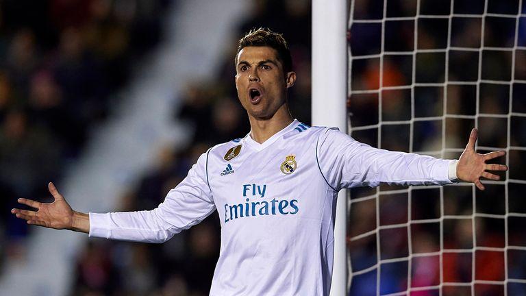 Ronaldo has endured a difficult season in La Liga