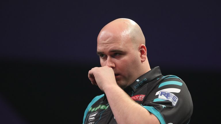 It has been a difficult start to 2018 for Rob Cross. Can he turn it around?