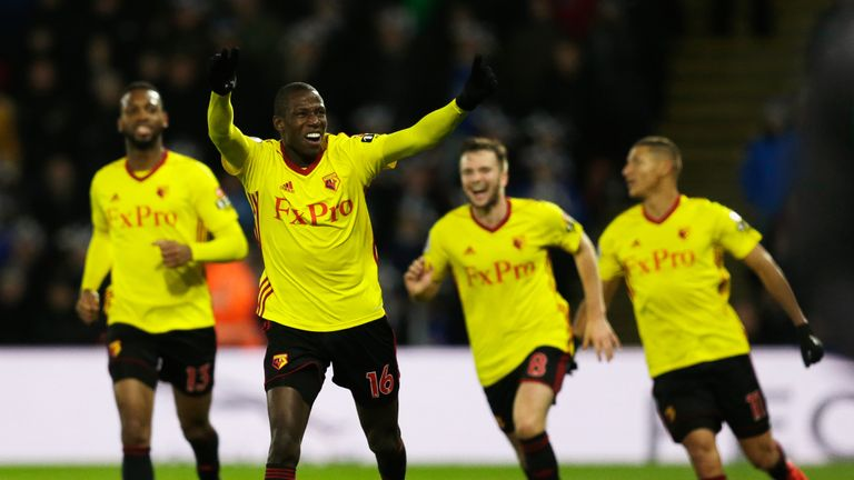 Abdoulaye Doucoure has scored seven goals for Watford this season
