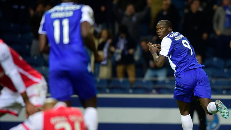 Porto could be without Cameroonian forward Vincent Aboubakar in the first leg