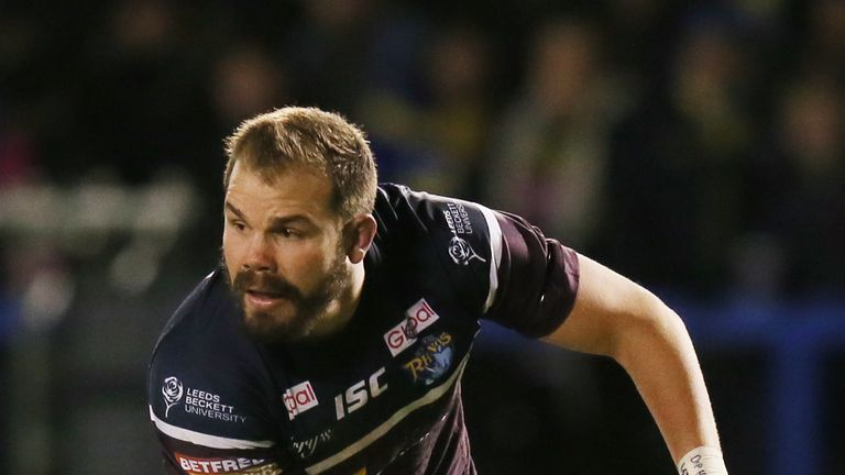 Adam Cuthbertson has made 21 carries and 91 metres so far this season