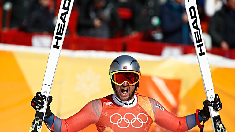 Svindal is the most successful Norwegian downhill skier in World Championship history