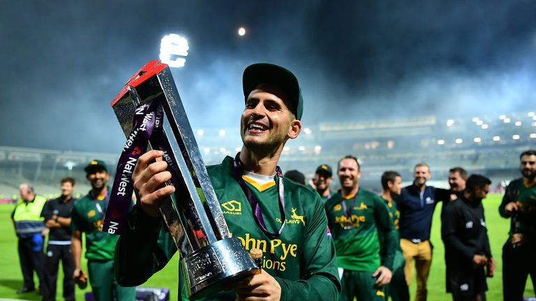 Nottinghamshire's Alex Hales won't play in red-ball cricket for his county in 2018
